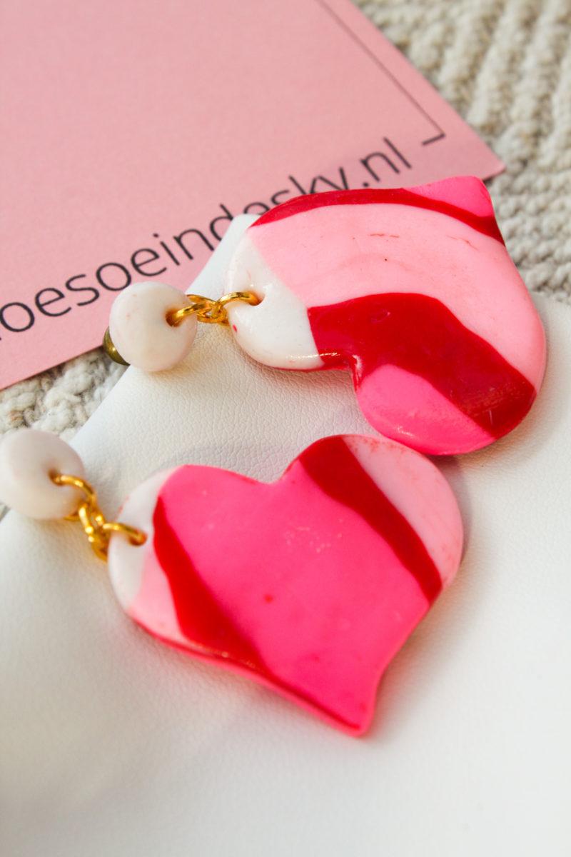 roze hartjes goud