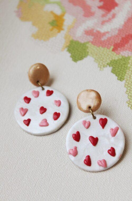 valentijn hart love parelmoer glitter