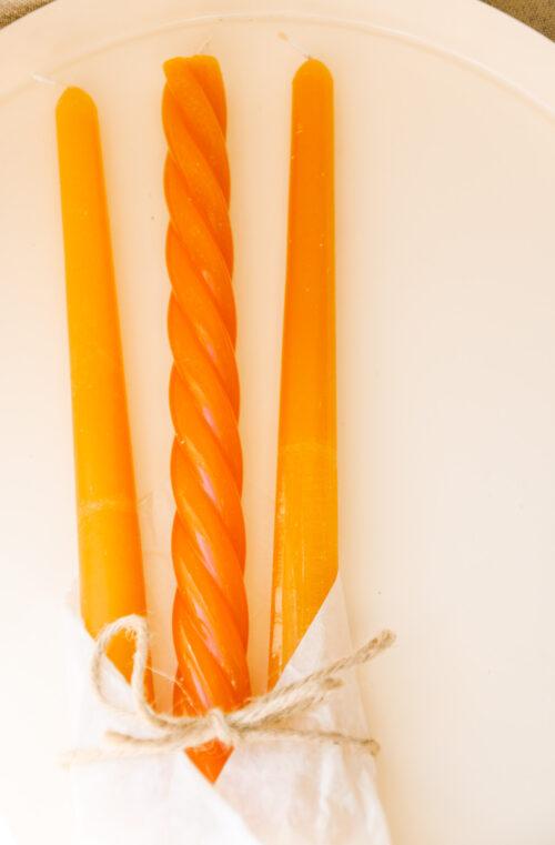 kaarsen oranje