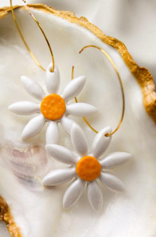 bloem ring goud